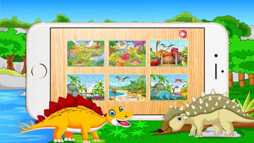 恐龙拼图幼儿孩子恐龙游戏免费 翼龙探索侏罗纪儿童游戏