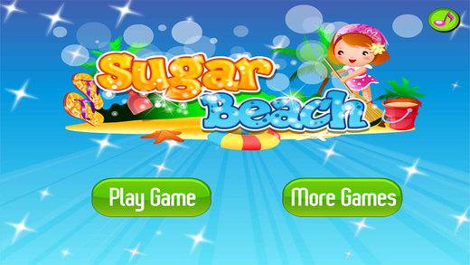 糖糖的海滩,儿童游戏,爸爸妈妈和宝宝的游戏-EN