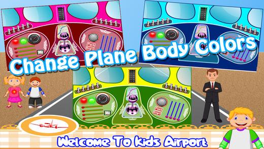 孩子们 机场 宝宝 航空公司 冒险 小 男孩 & 女生 游戏
