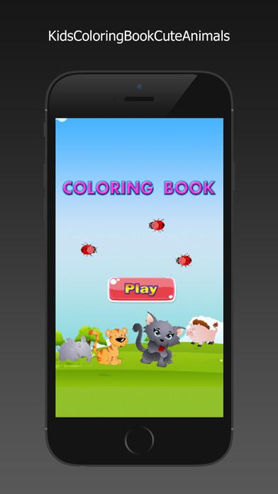 图画书 - 绘画七彩虹为孩子们免费游戏Animals