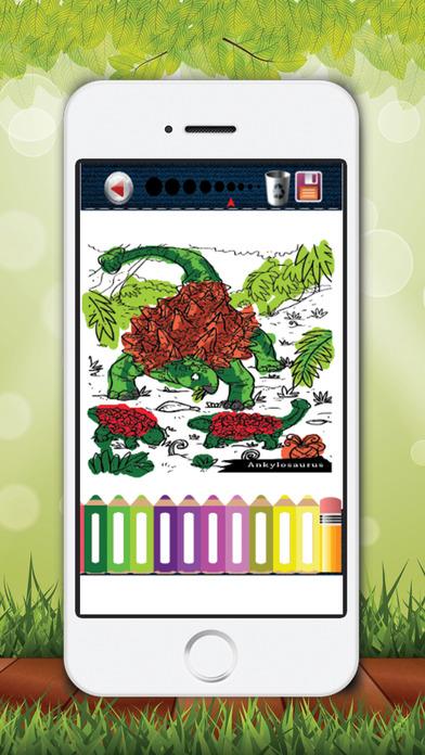 儿童图画书的小美女恐龙