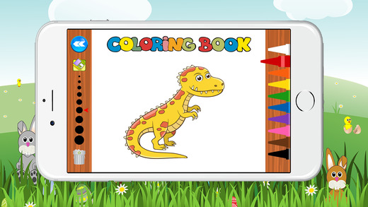 学龄前我的恐龙彩页