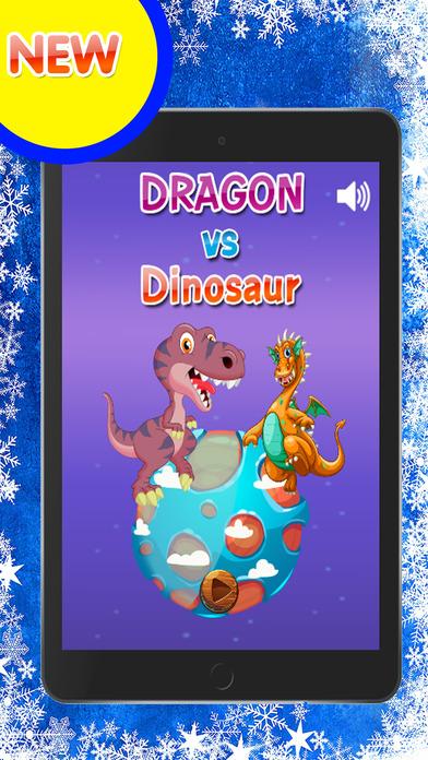 龙跳过恐龙游戏的孩子