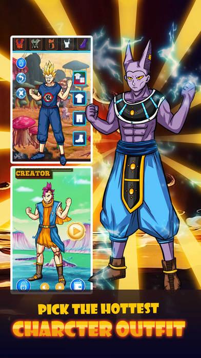 超级赛亚人 - 漫画角色装扮游戏 for 七龙珠