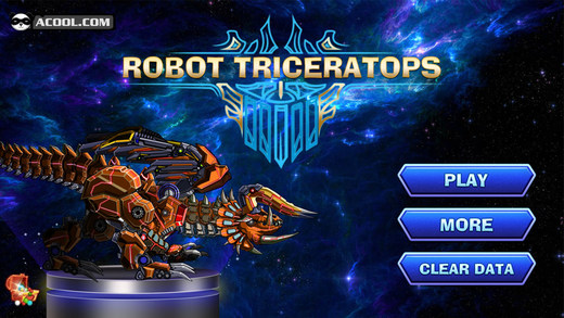 玩具机器人大战:机械三角龙