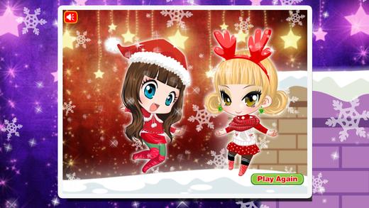 小公主的圣诞装扮 ^0^