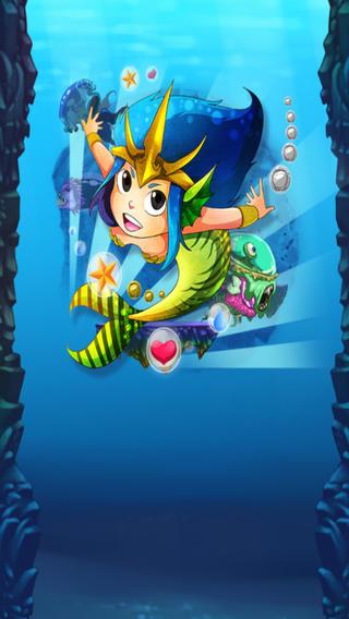 我的可愛的美人魚跳 - My Cute Mermaid Jump