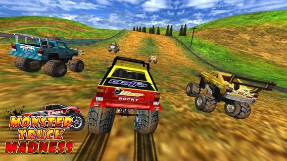 怪物卡車瘋狂(3D賽車遊戲)...