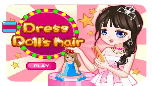 打扮娃娃的头发