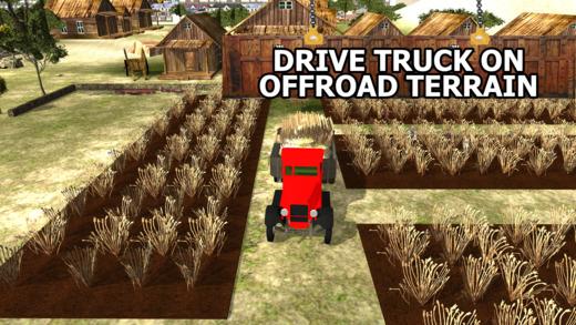 农作物转运货车 - 货物运输