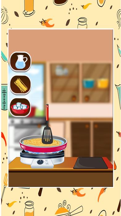 意大利面制造商 - 小孩在这个烹饪发烧游戏做中国菜