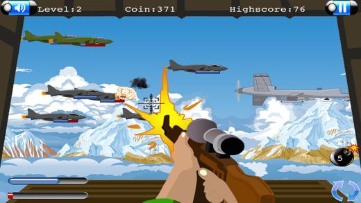 间谍飞机逃生 - 射击塔挑战赛 免费