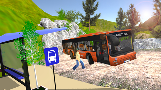 极限公路巴士司机3d模拟器2017