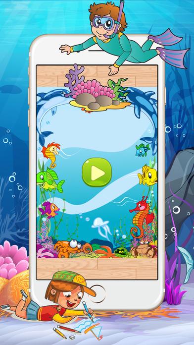 图画书Seapet  - 图书为孩子和成人