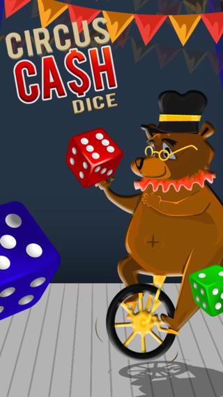 现金骰子掷骰子的冰火马戏团