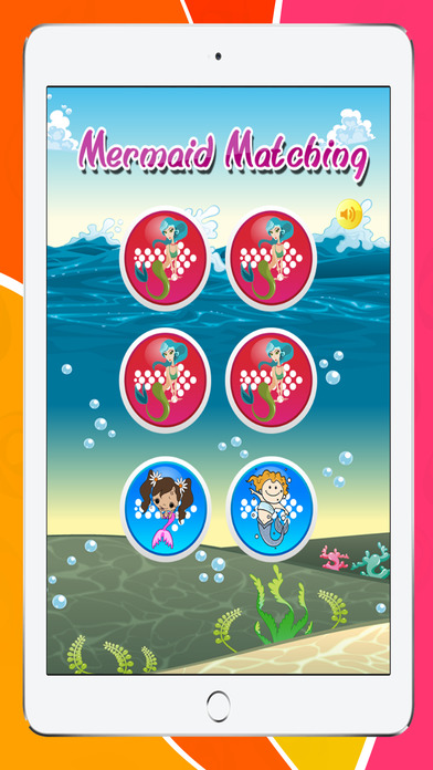 免费好玩匹配的卡片游戏的美人鱼
