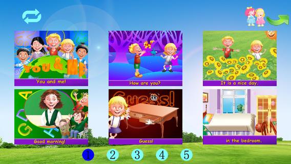 快乐学英语:儿歌动画A