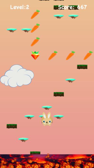 蹦蹦兔跳跃 (Lava Floor Escape) - 逃离岩浆大冒险