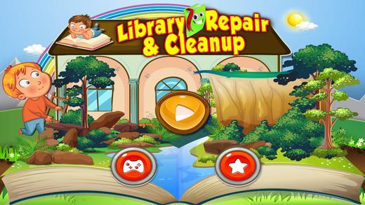 库维修及清理 - 享受疯狂的清洗和冲洗的游戏为孩子们
