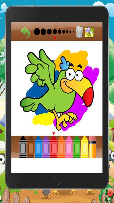 世界寵物著色書為學前遊戲