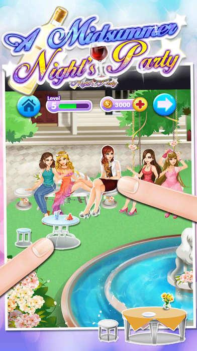仲夏夜派对 - 免费女孩化妆游戏