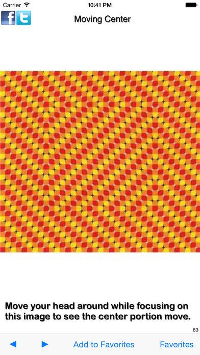 错觉 - 那挑逗你的大脑图像