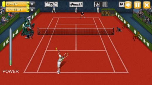 真实网球冠军 - 3D 网球精英游戏