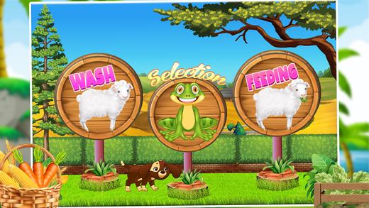 婴儿羊护理 - 虚拟宠物游戏