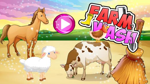 农场华盛顿 - 房子清理和为孩子们照顾动物的乐趣