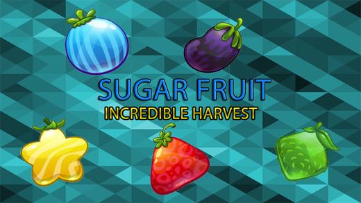 糖的水果 - 令人难以置信的收获