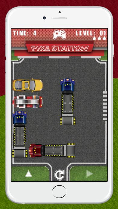 消防車停車擋企圖逃跑退出