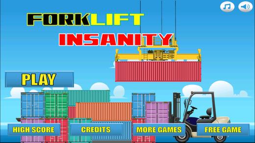 Forklift Insanity PRO-叉车司机特技跳跃比赛
