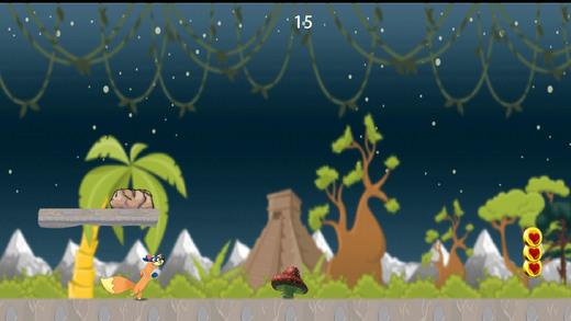 狐狸惊人的丛林小偷