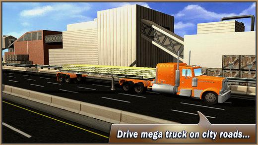 麦包包转运卡车 - 驾驶模拟器
