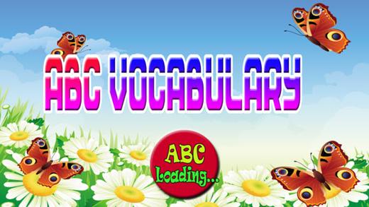 ABC词汇为小孩和孩子