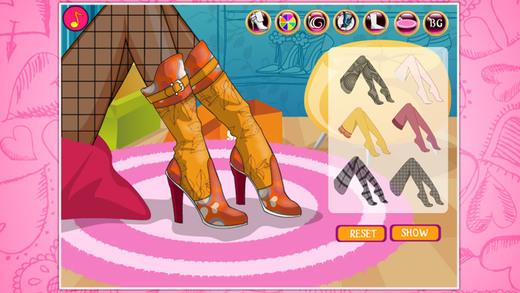 小小设计师-水晶珍珠高跟鞋