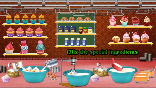 杯形蛋糕厂 - 面包店厨师游戏