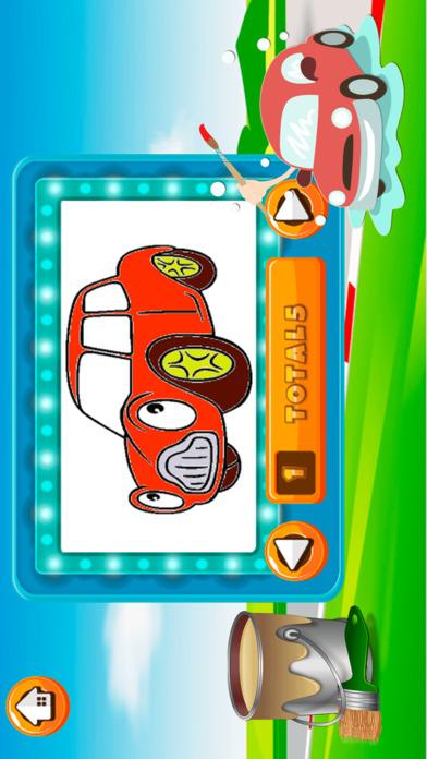 汽车图画书 - 所有在1画出汽车涂料和彩页游戏的孩子