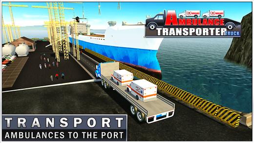 救护车运输卡车&货车驾驶模拟