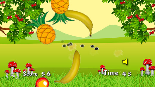 水果射击游戏 - 免费游戏的孩子