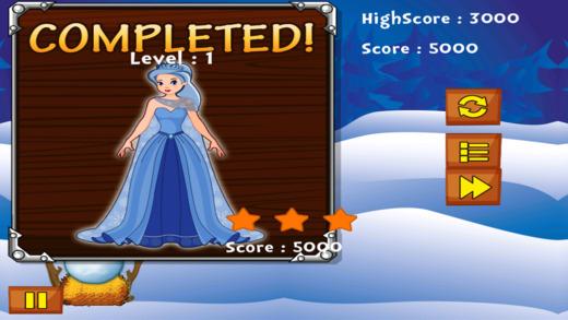 冰公主的故事 - 斯诺球下落战略游戏 免费