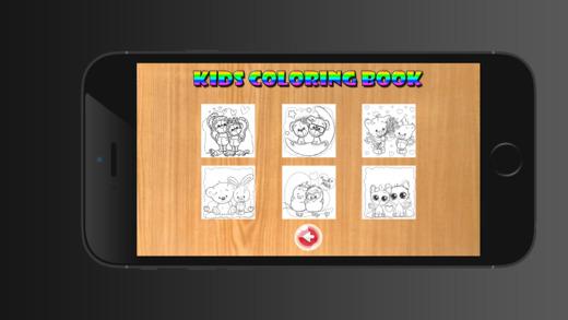 儿童图画书可爱的动物 - 教育学习儿童游戏幼儿