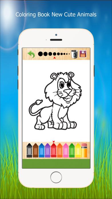 图画书 - 绘画七彩虹为孩子们免费游戏 NewCuteAnimals
