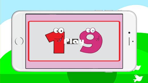 匹配的号码改善大脑记忆游戏的孩子们