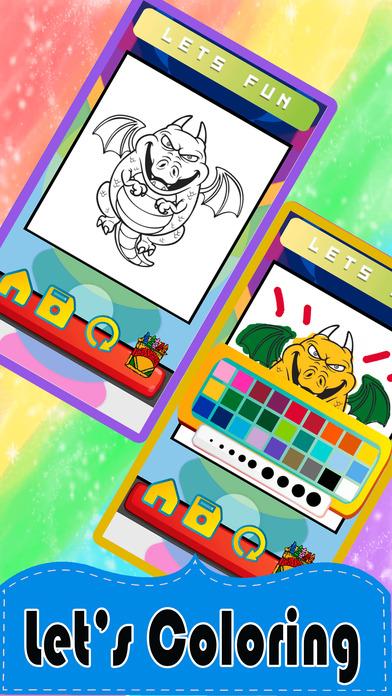 龙最多着色页 - 如何画龙