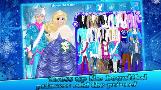 冰雪情缘-王子与公主的晚宴装扮