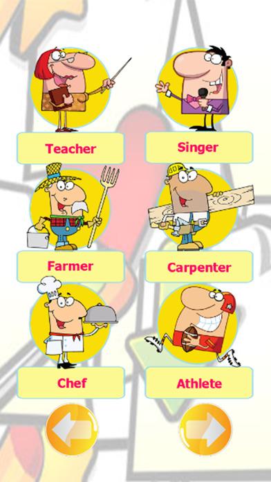 职业课英语学习的孩子:说话学龄前幼儿。