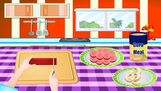 制作比萨饼--梦幻料理