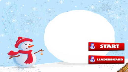 不断增长的冷冻雪球 - 滚动冰球疯狂 FREE