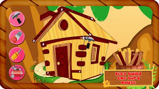 建立一个鸟屋 - 造树家的小宠物动物装饰它